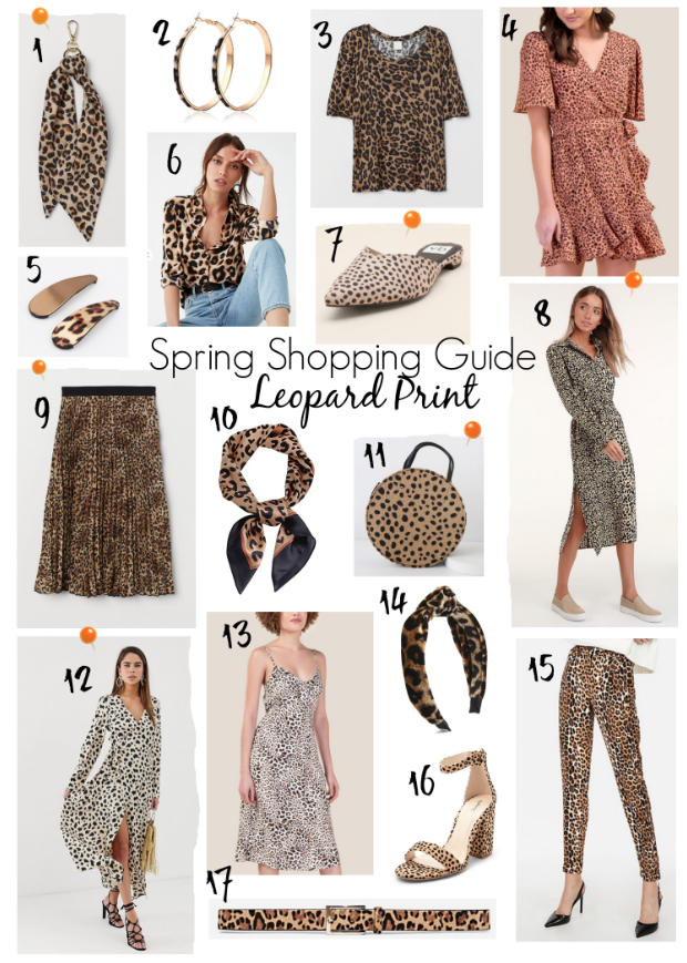 17 leopard print pieces that are prefect to wear for spring